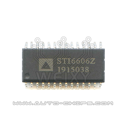 STI6606Z chip use for Automotives dashboard