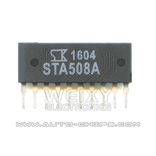 STA508A fuel injection driver chip use for Automotives ECU