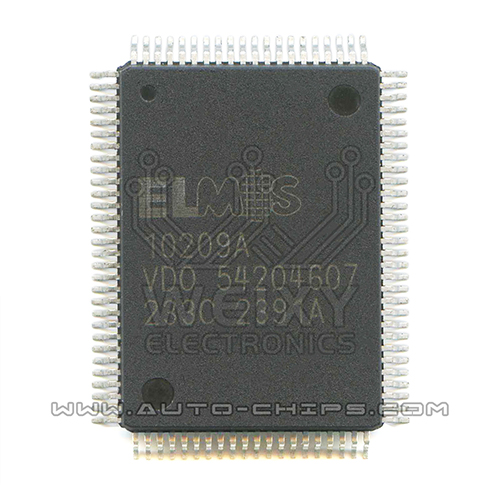 ELMOS 10209A Commonly used vulnerable driver chips for excavator ECM