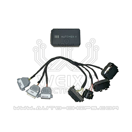 BMW N13,N20,N55,B38 DME test cables specially designed to work with autohex II