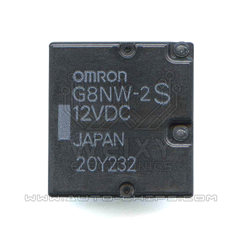 G8NW-2S 12VDC Relay use for automotives BCM