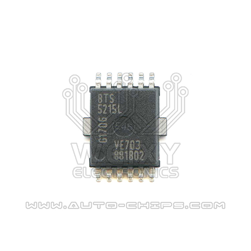 BTS5215L chip use for automotives BCM