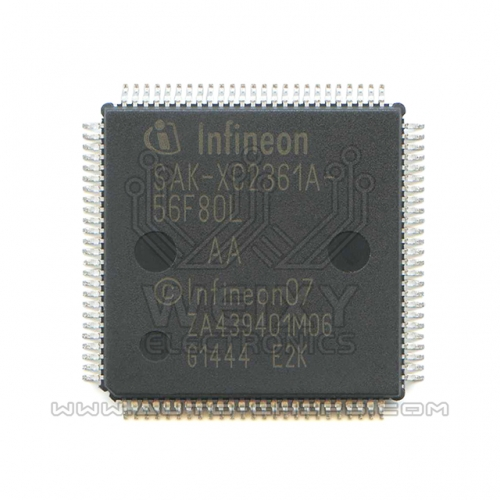 SAK-XC2361A-56F80L  commonly used MUC chip for Automotive airbag control unit