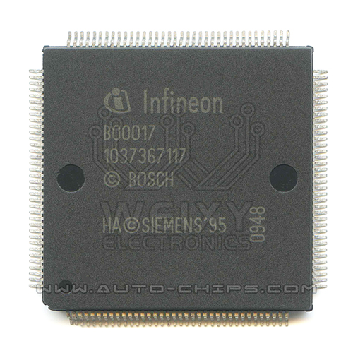 B00017 1037367117 MCU chip use for Automotives ECU