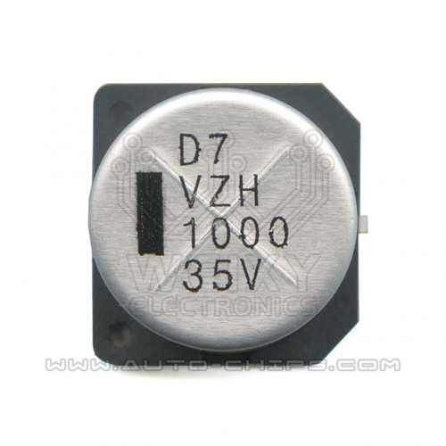 1000uf 35V capacitor use for BMW MSV90 DME DDE ECU