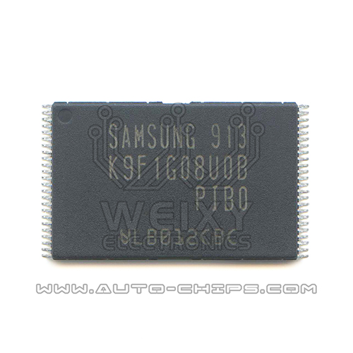 K9F1G08U0B-PIBO K9F1G08U0B-PIB0 chip use for automotives amplifier