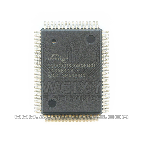 S29CD016J0MQFM01 flash chip use for Automotives