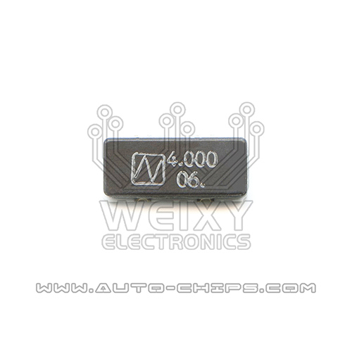 4.000 MHz crystal oscillator for automotives