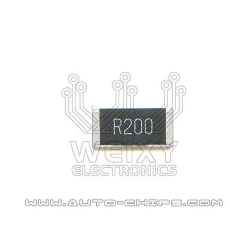 R200 resistor use for automotives