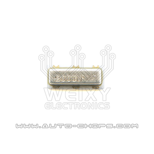 2000 MHz crystal oscillator for automotives keys