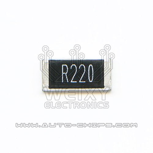 R220 resistor use for automotives