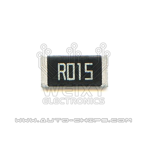 R015 resistor use for automotives