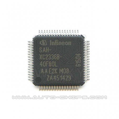 SAH-XC2336B-40F80L  commonly used MUC chip for Automotive airbag control unit