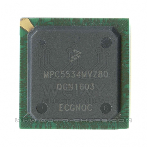 MPC5534MVZ80 BGA MCU chip use for automotives ECU
