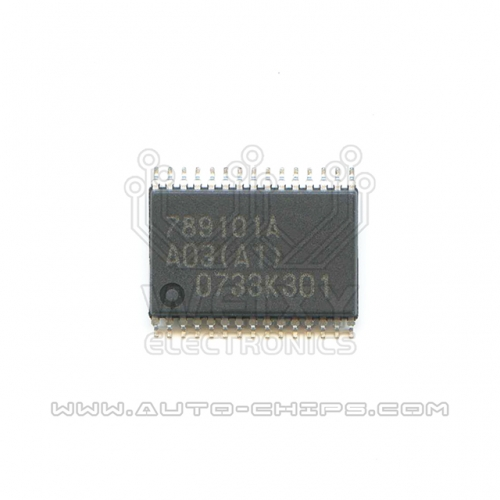 789101A  idling throttle drive chip for  ECU