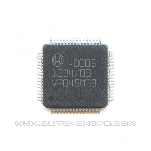 40005  Commonly used vulnerable driver chip for Truck EDC17 EDC