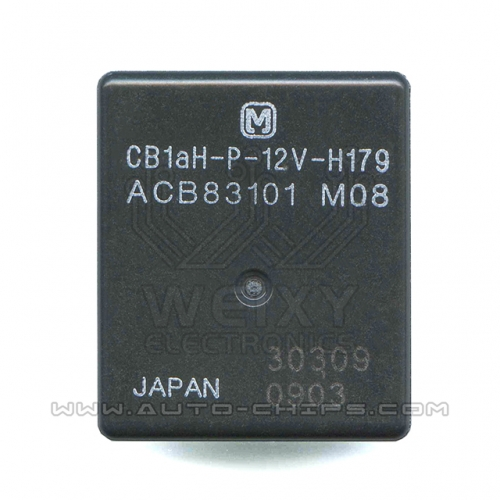 CB1aH-P-12V-H179 ACB83101 relay use for automotives