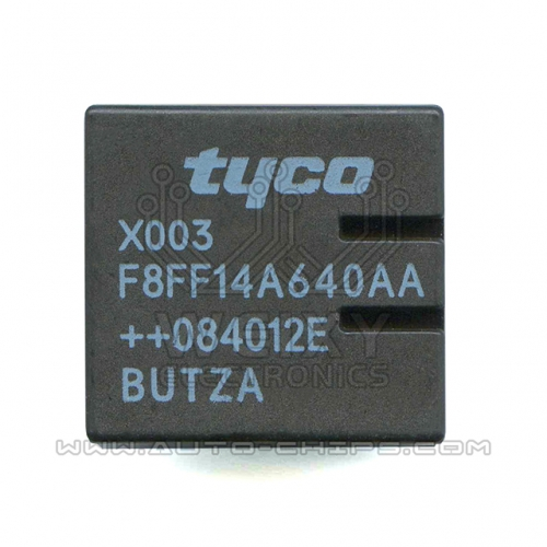X003-F8FF14A640AA relay use for automotives BCM