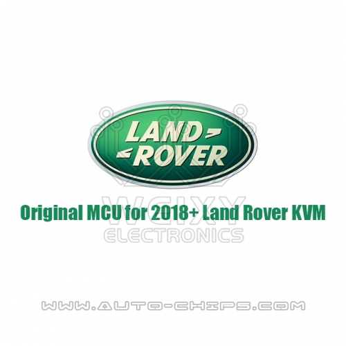 Original MCU for 2018+ Land Rover KVM