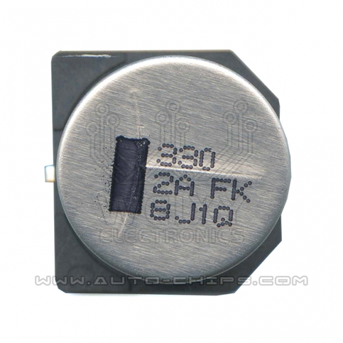 330 2A FK 18cm X 16cm capacitor use for automotives