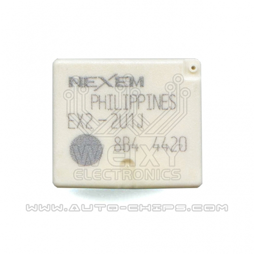 EX2-2U1J relay use for BMW FEM BDC