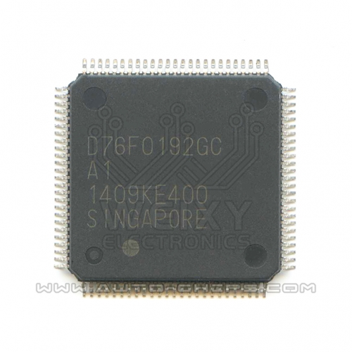 D76F0192GC A1 MCU chip use for automotives