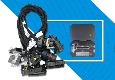 BMW 6HP,8HP,N13,N20,N55,B38,MSV90 DME test platform cable for magicmotorsport flex & MAGPro2 x17