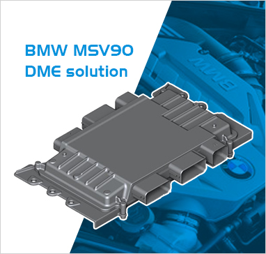 BMW MSV90 DME DDE ECU Solutions by WEIXY Electronics | WWW.AUTO-CHIPS.COM