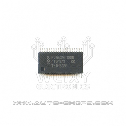 PCF7953  commonly used vulnerable chip For Car key circuit board