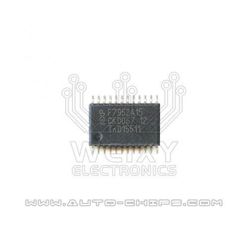 PCF7952  commonly used vulnerable chip For Car key circuit board