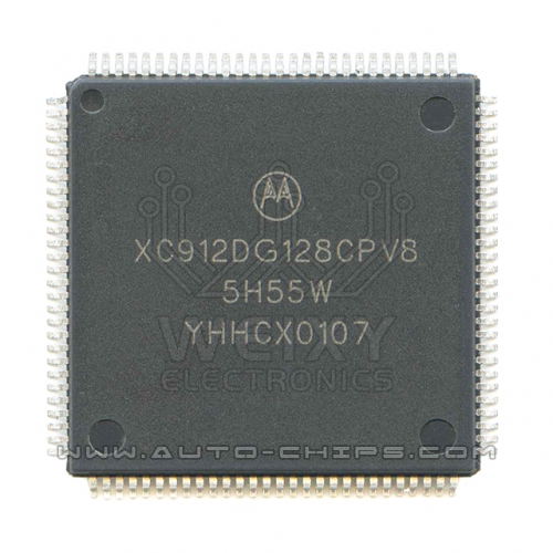XC912DG128CPV8 5H55W MCU chip use for automotives