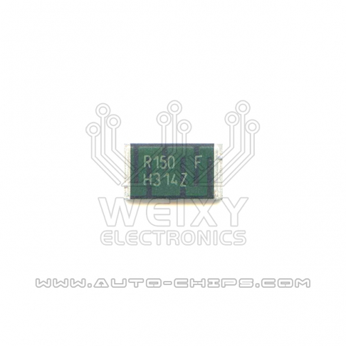 SMT R150 resistor use for automotives ECU