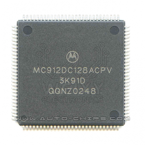 MC912DC128ACPV 3K91D MCU chip use for automotives
