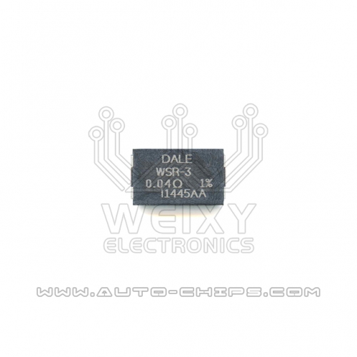 DALE WSR-3 0.04R resistor use for automotives
