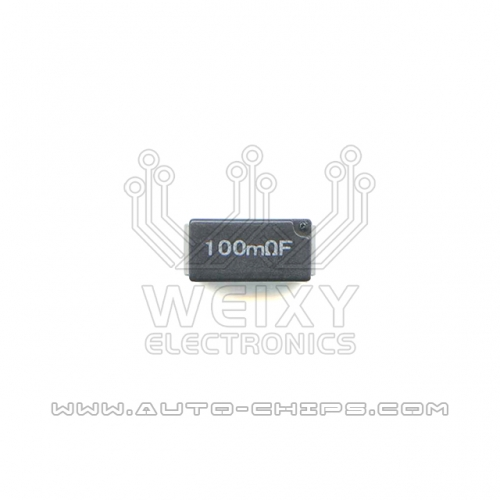 100mRF resistor use for automotives
