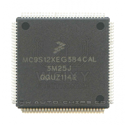 MC9S12XEG384CAL 3M25J MCU chip use for automotives