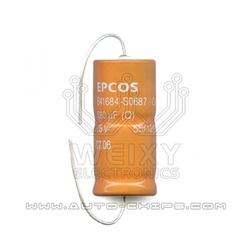 EPCOS B41684-S0687-Q1 680uf 75V capacitor use for automotives