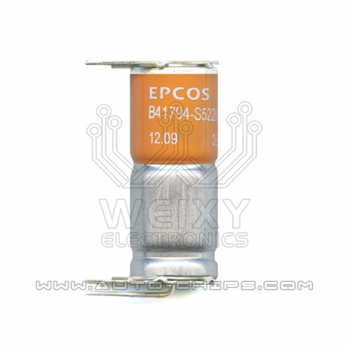 EPCOS B41794-S5228-Q1 capacitors for automotives