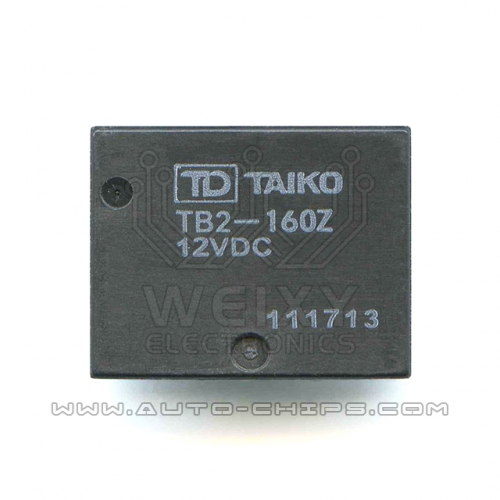 TB2-160Z 12VDC Relay use for automotives BCM