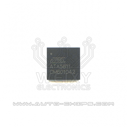 ATA5811 chip use for Mercedes-Benz key
