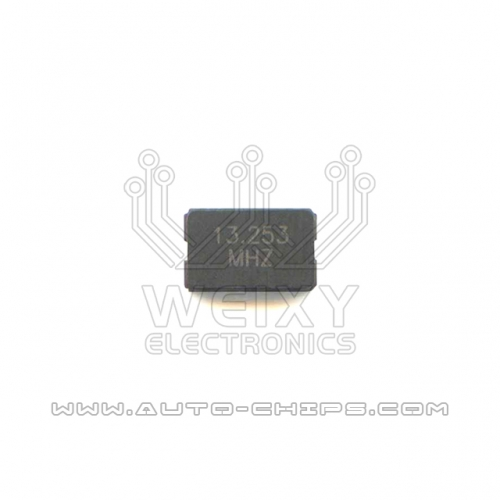 13.253 MHZ crystal oscillator use for automotives key