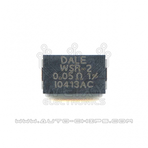 DALE WSR-2 0.05R resistor use for automotives ECU