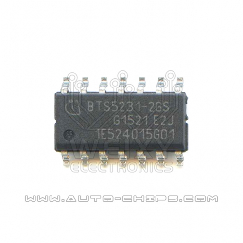 BTS5231-2GS chip use for automotives BCM