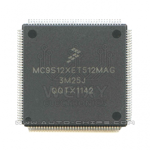 MC9S12XET512MAG 3M25J MCU chip use for automotives