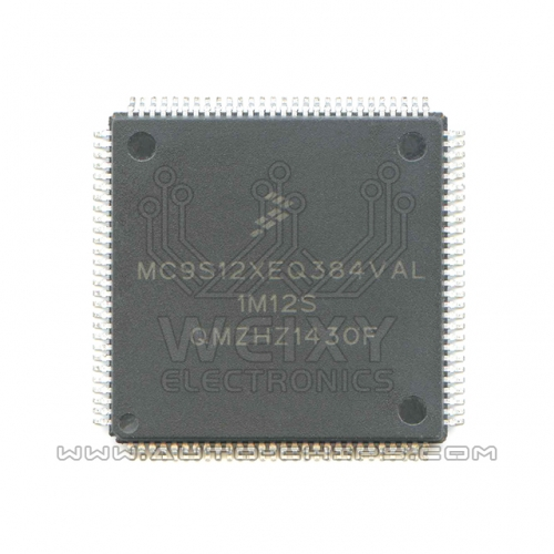 MC9S12XEQ384VAL 1M12S MCU chip use for automotives