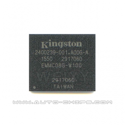 EMMC08G-W100 chip use for automotive radio