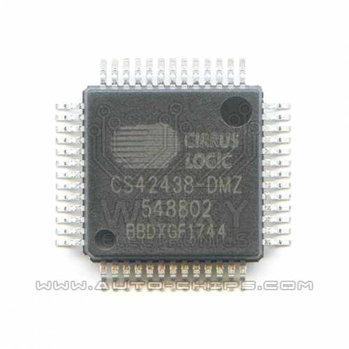 CS42438-DMZ chip use for automotives radio