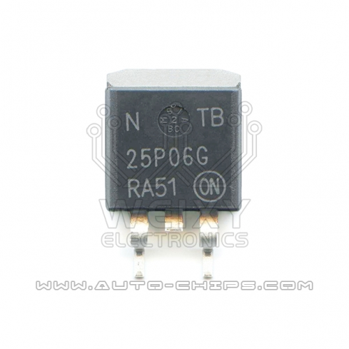 NTB25P06G chip use for automotives