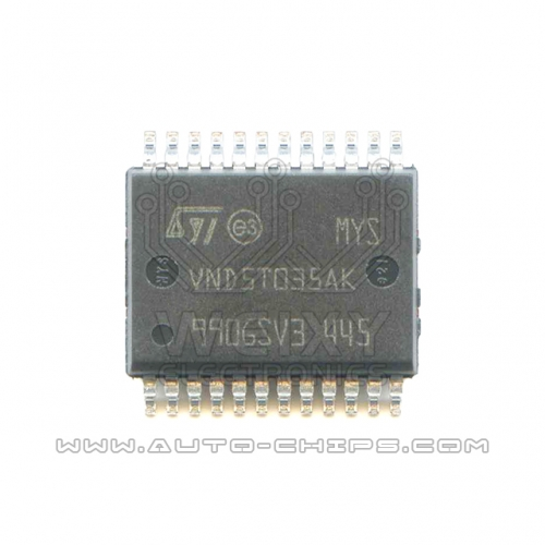 VND5T035AK chip use for automotives BCM