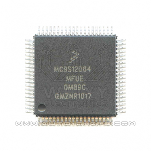 MC9S12D64MFUE 0M89C MCU chip use for automotives